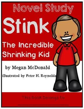 Stink The Incredible Shrinking Kid - Novel Study/Comprehension