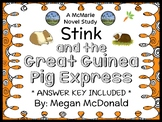 Stink and the Great Guinea Pig Express (Megan McDonald) Novel Study  (27 pages)