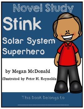 Stink Solar System Superhero - Novel Study/Comprehension