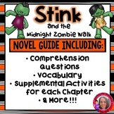 Stink and the Midnight Zombie Walk Literature Unit #HelloFall