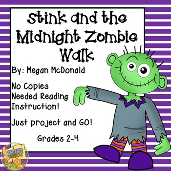 Stink and the Midnight Zombie Walk - No Copies Reading Ins