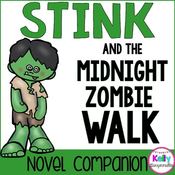 Stink and the Midnight Zombie Walk Novel Companion