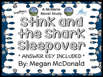 Stink and the Shark Sleepover (Megan McDonald) Novel Study / Comprehension