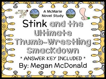 Stink and the Ultimate Thumb-Wrestling Smackdown (Megan McDonald) Novel Study