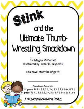 Stink and the Ultimate Thumb-Wrestling Smackdown Novel Study (#6)