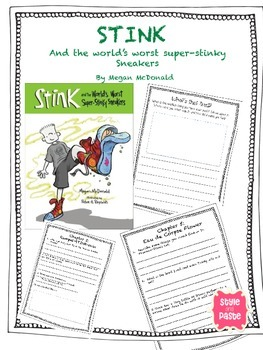 Stink and the World's Worst Super-Stinky Sneakers Book Club