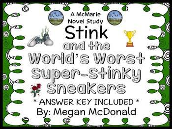 Stink and the World's Worst Super-Stinky Sneakers (Megan McDonald) Novel Study