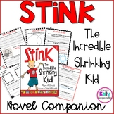 Stink the Incredible Shrinking Kid chapter by chapter nove