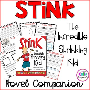 Stink the Incredible Shrinking Kid novel companion