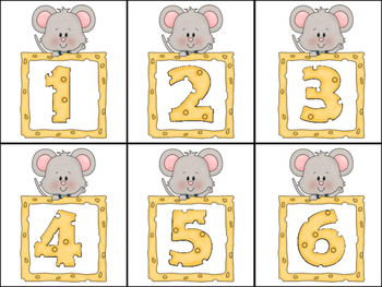 Stinky Cheese Game Cards for Letters, Numbers, and More!!  ~Dr. Jean inspired~