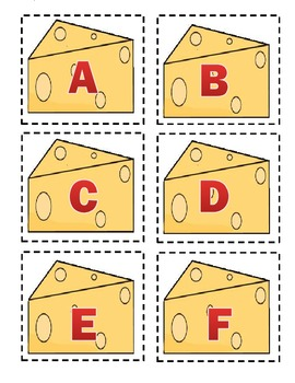 """""""Stinky Cheese"""" Game with the Alphabet"""