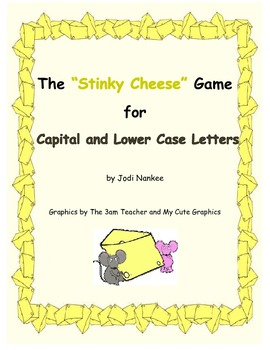 """Stinky Cheese"" Game with the Alphabet"