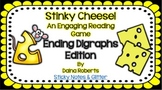 Stinky Cheese! Reading Game - Ending Digraphs Edition {3 V