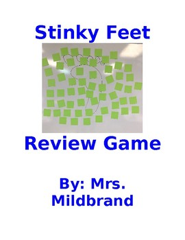 Stinky Feet 4th Grade Math State Testing Review