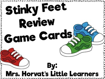 Stinky Feet Review Cards Game