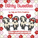 Stinky Sweeties {blending onsets and rimes literacy center}