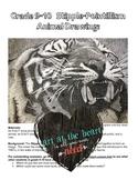 Stipple Animals & Stipple Architecture Assignments