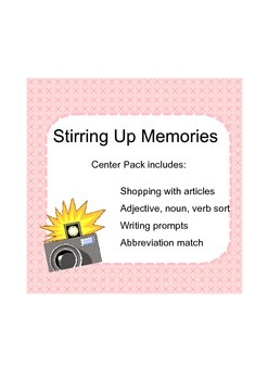 Stirring Up Memories Center Pack