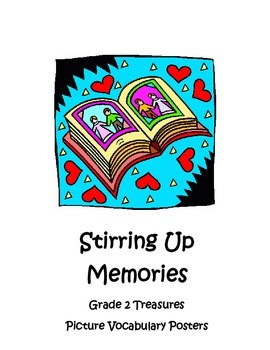 Stirring Up Memories Picture Vocabulary Posters, Grade 2 T