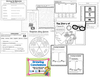 Stirring Up Memories: Treasures 2nd Grade:Common Core Aligned Activities