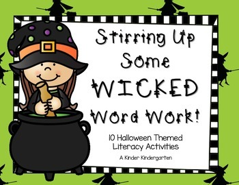 Stirring Up Some Wicked Word Work