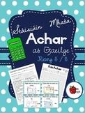 Stáisiúin Mhata - Achar (as Gaeilge) // Stations - Area (in Irish) - Rang 5/6