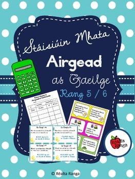 Stáisiúin Mhata - Airgead (as Gaeilge) // Maths Stations -