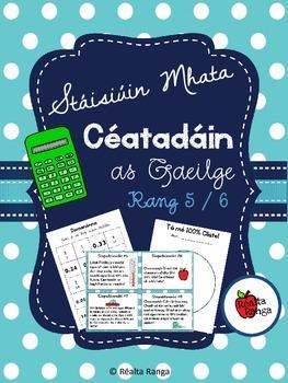 Stáisiúin Mhata - Céatadáin (as Gaeilge) // Stations - Percentages (in Irish)