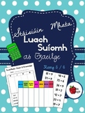 Stáisiúin Mhata - Luach Suíomh (as Gaeilge) // Stations - Place Value (in Irish)