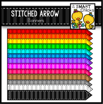 Stitched Arrow Banners