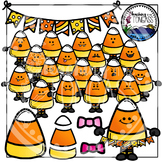 Candy Corn Clipart (Halloween Clipart)