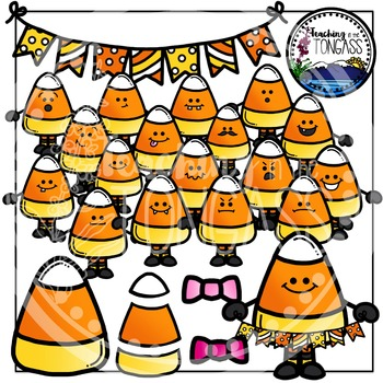 Candy Corn Clipart Bundle