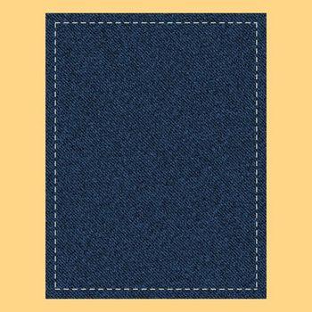Stitched Denim Digital Background Paper for Commercial Use ~ Scrapbook Paper