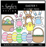 Easter 1 Clipart {A Hughes Design}