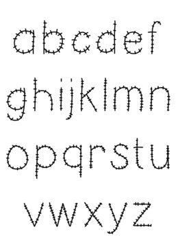 Font: Stitched - Personal and Commercial Use