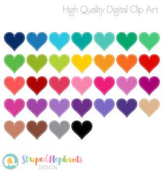 Stitched Heart Clip Art 1