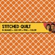 Stitched Quilt Backgrounds