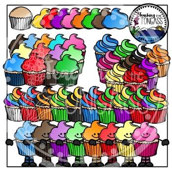 Cupcakes Clipart Bundle