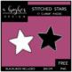 FREE Stitched Stars Clipart {A Hughes Design}