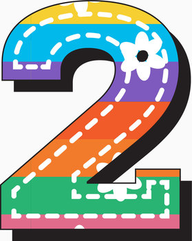 """Stitches 2! Clip Art Alphabet, 99 PNGs, 3.5"""" 300 DPI  Vector and PNG"""