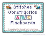 Stitches Construction ABC Flashcards