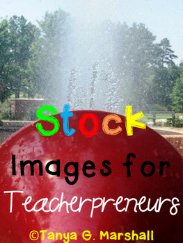 Stock Images for Teacherpreneurs: Fun in the Sun Set (Personal & Commercial Use)
