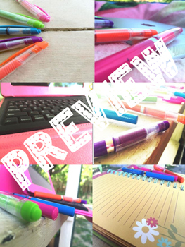 Stock Images for Teacherpreneurs: Pen and Pad Set (Personal and Commercial Use)