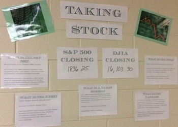 Stock Market Bulletin Board