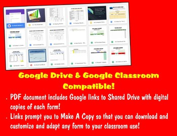 Stock Market Challenge Complete Unit - Google Drive & Classroom Links!