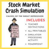 Stock Market Crash Simulation: Causes of the Great Depression