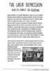 Great Depression & Stock Market Crash Analysis! 8 impacts