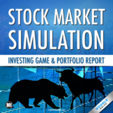 Stock Market Game, Activity, & Simulation: Distance Learni