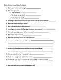 Stock Market Game Question Sheet