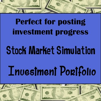 Stock Market or Investment Bulletin Board - High School